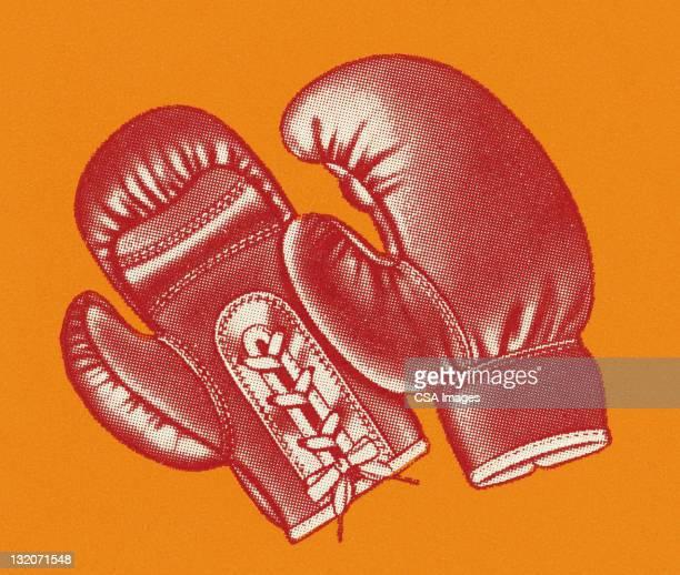 illustrations, cliparts, dessins animés et icônes de gants de boxe - gant de boxe
