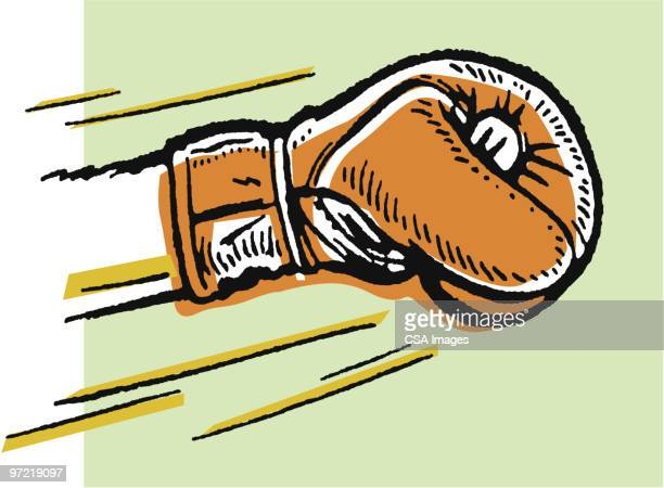 illustrations, cliparts, dessins animés et icônes de boxing - gant de boxe