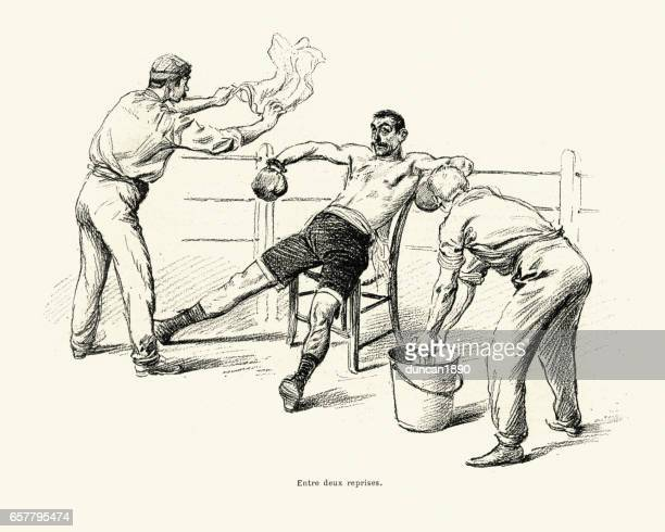 Boxing vs Savate, Match between Driscoll and Charlemont 1899