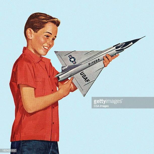 少年保持トーイ飛行機