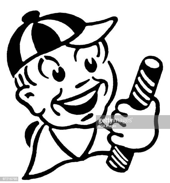 ilustraciones, imágenes clip art, dibujos animados e iconos de stock de boy - gracias por su atencion