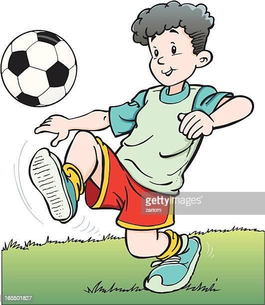 Niño con bolas