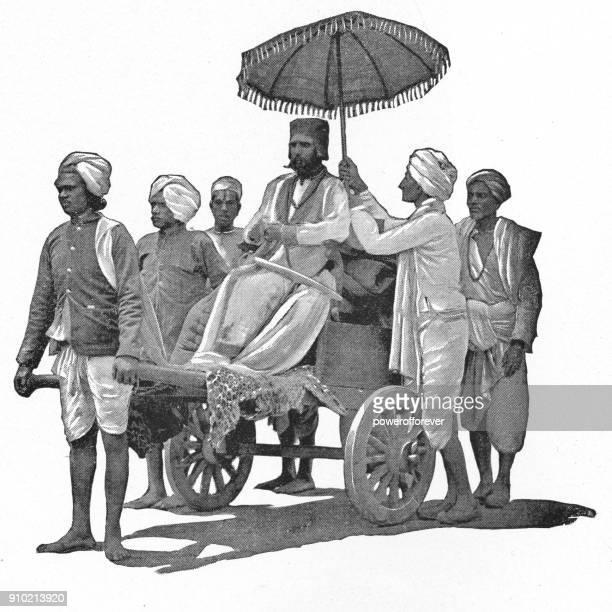 Brahmin High Caste Man in India - British Era