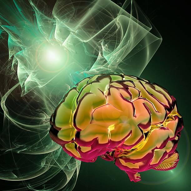 Brain Activity, Conceptual Artwork Wall Art