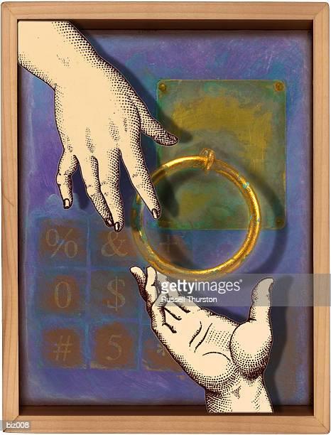 illustrations, cliparts, dessins animés et icônes de brass ring - marteaudeporte