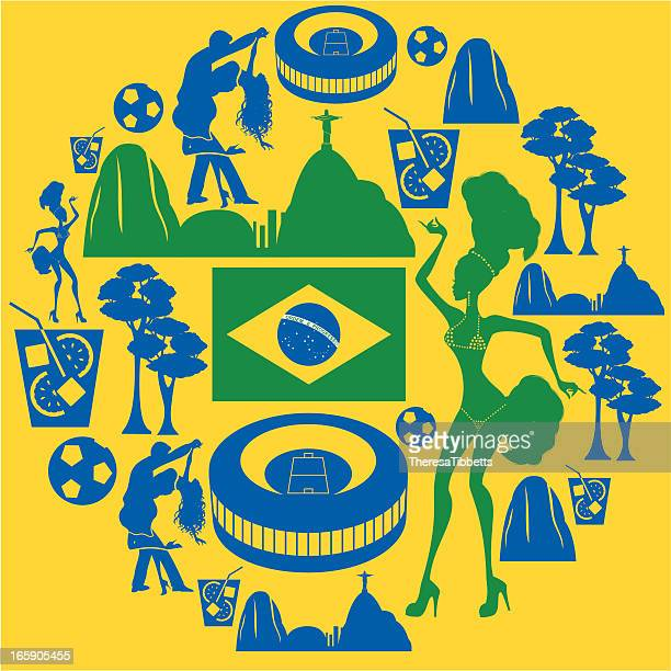 Brazilian Icon Montage