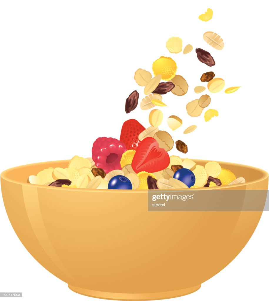 Breakfast Cereal : stock illustration