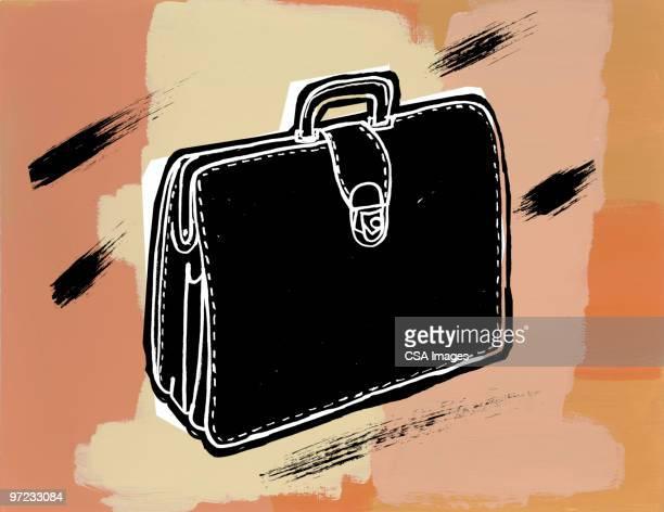 briefcase - aktentasche stock-grafiken, -clipart, -cartoons und -symbole
