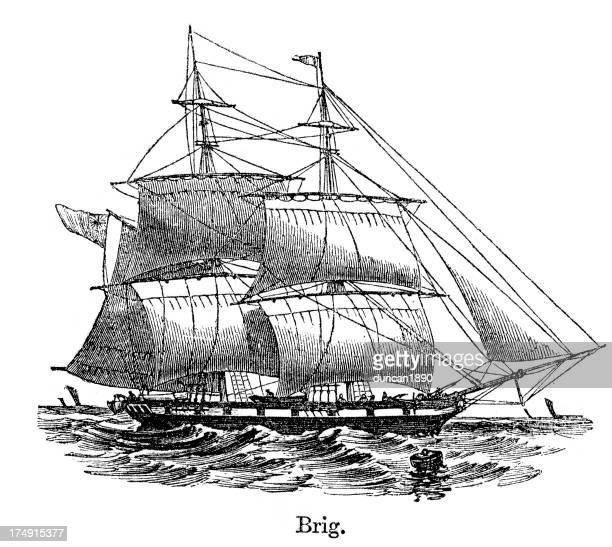 Brig - Historical Ship