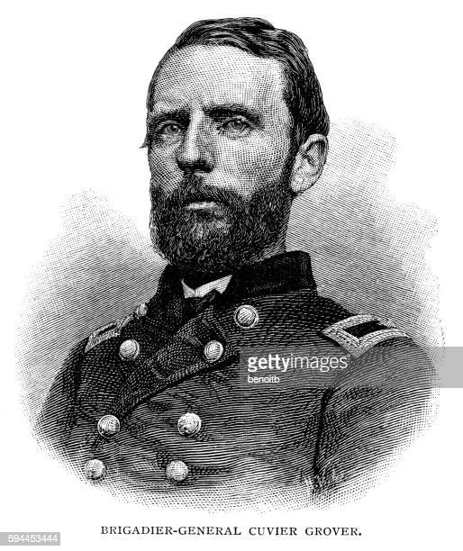 brigadier general cuvier grover - general stock-grafiken, -clipart, -cartoons und -symbole