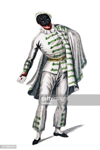 Brighella ,is a comic, masked character from the Commedia dell'arte