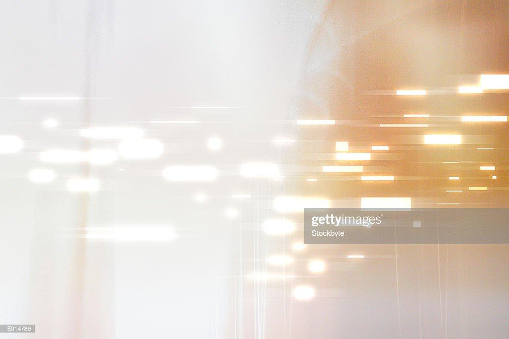 Bright lights abstract : stock illustration