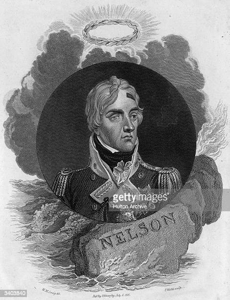 British Admiral, Viscount Horatio Nelson .