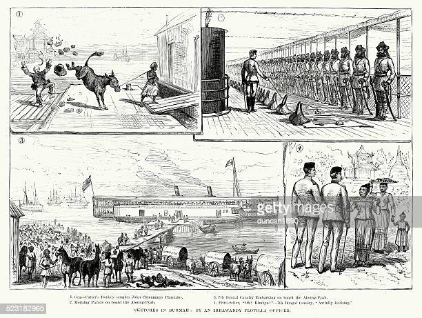 British Empire: Sketches in Burma