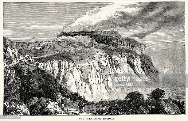 british expedition to abyssinia - ethiopia stock illustrations, clip art, cartoons, & icons