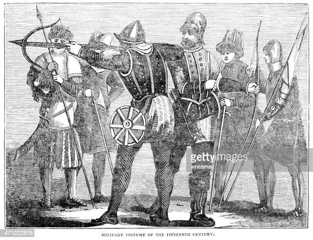 Fantasia de Exército britânico do século 15