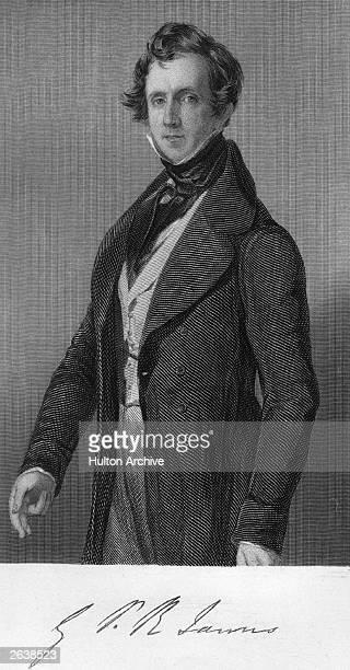 British novelist and historical writer George James