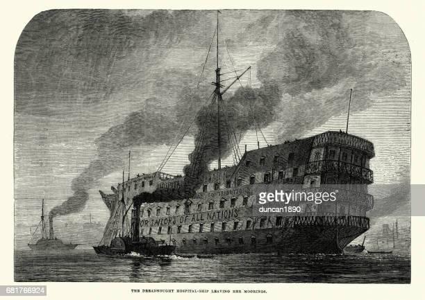 英国王立海軍艦艇 - ドレッド ノート、病院船
