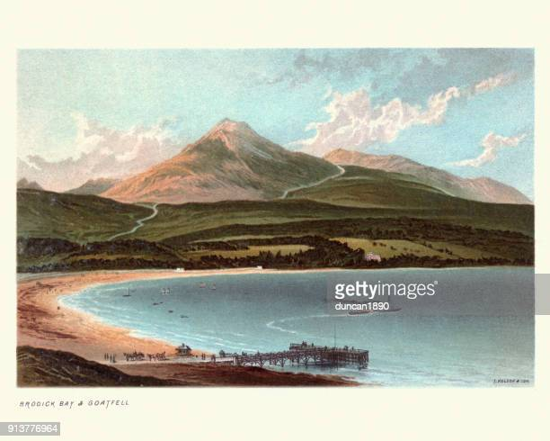Brodick Bay and Goat Fell, Scotland, 19th Century