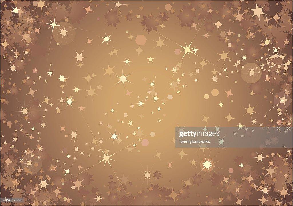 Bronze Sparkle Background