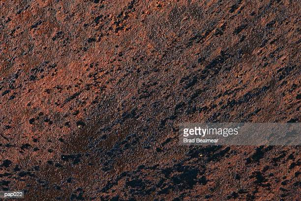 brown landscape background - powder paint stock illustrations