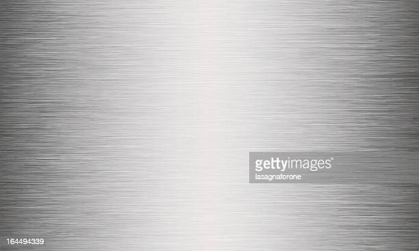 brushed metal texture abstract background - silver metal stock illustrations