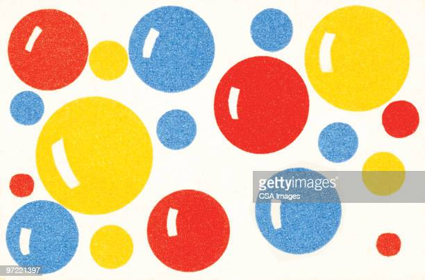 bubbles - spotted stock illustrations