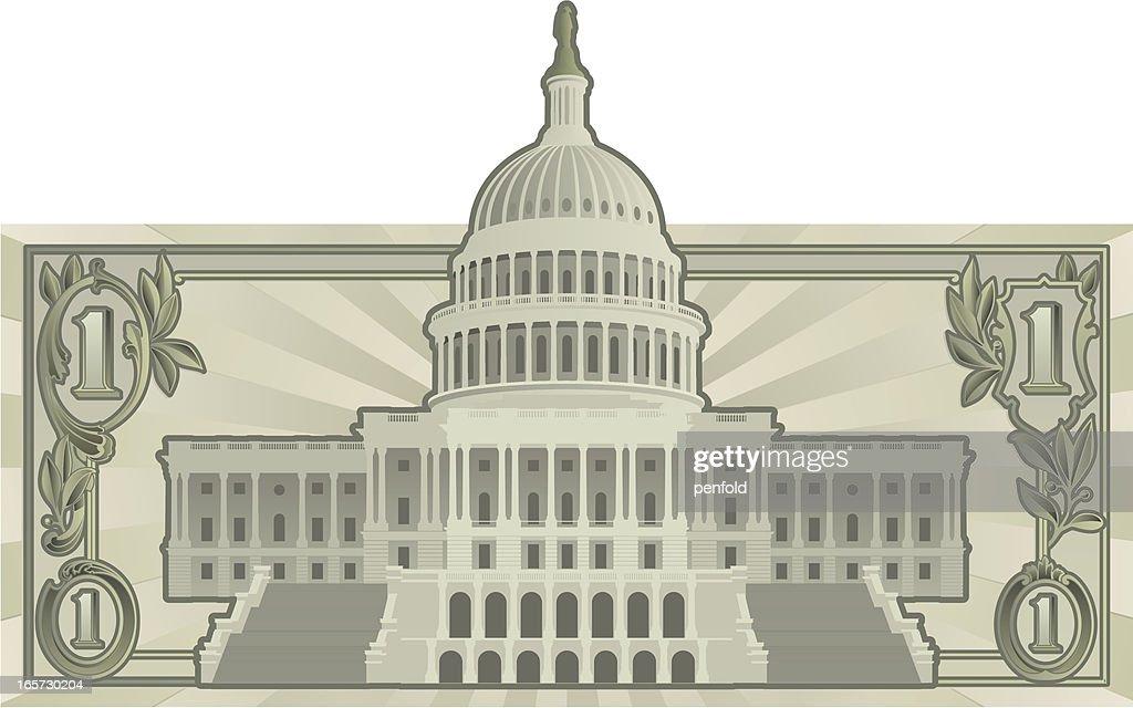 US Budget : stock vector