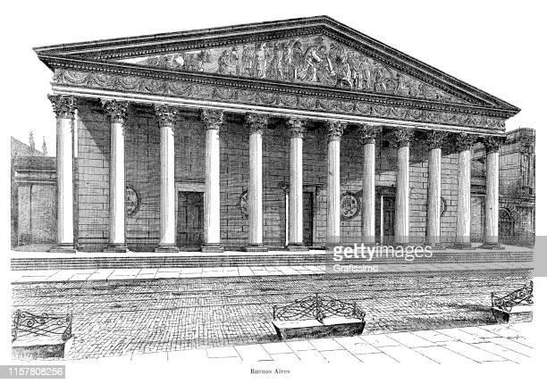 Buenos Aires Metropolitan Cathedral Argentina 1887