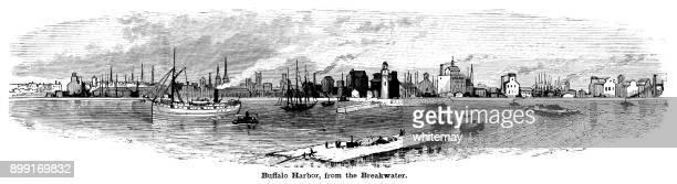 Buffalo Harbor from the breakwater