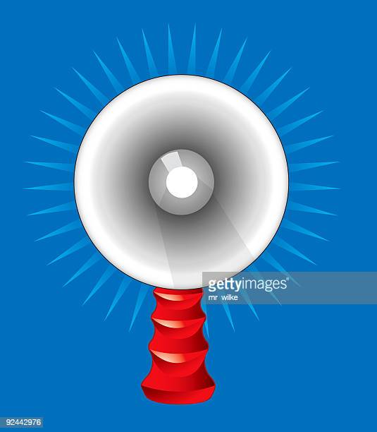 bullhorn - loudspeaker