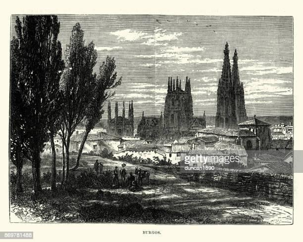 Burgos, Castile and Leon, Spain, 19th Century
