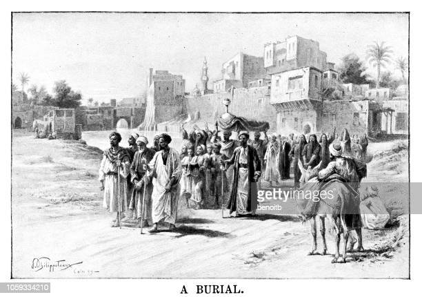A burial in Cairo