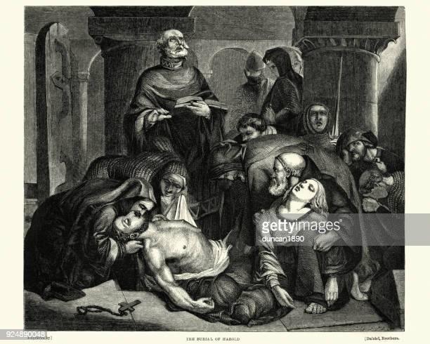 Entierro del rey Harold, 1066
