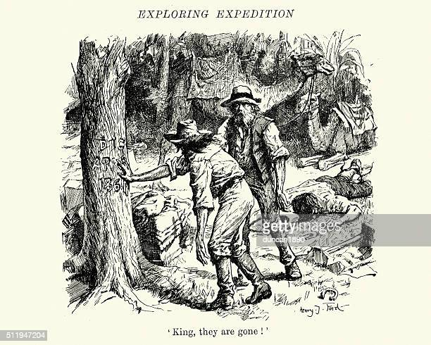 Burke and Wills expedition in Australia
