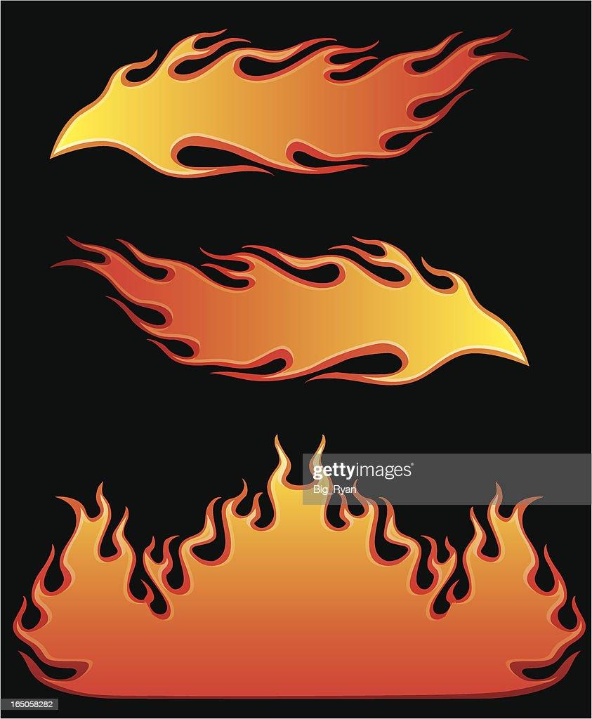 burning hot : stock illustration