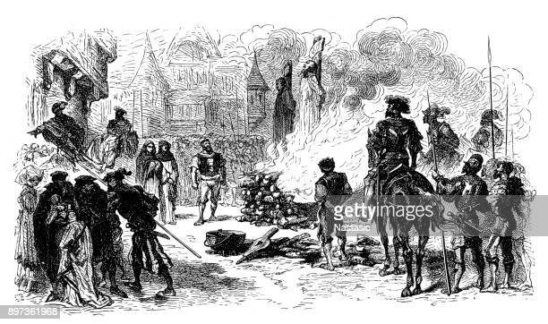 Burning of reformers at Meaux