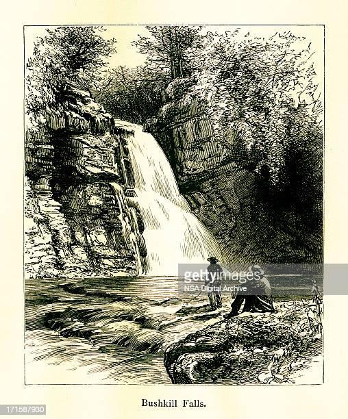 Bushkill Falls, Pennsylvania (1872)