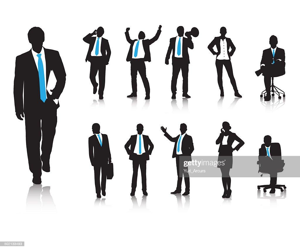 Business behaviours : stock illustration