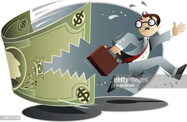 business bites - cash flow stock illustrations, clip art, cartoons, & icons