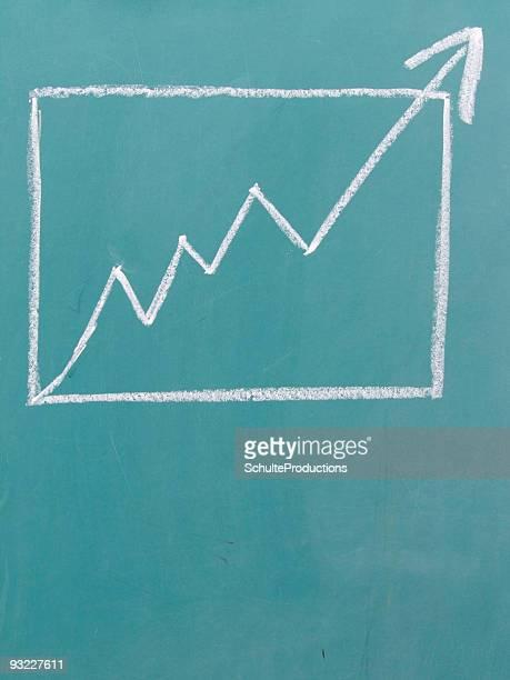 business chalk - report stock illustrations