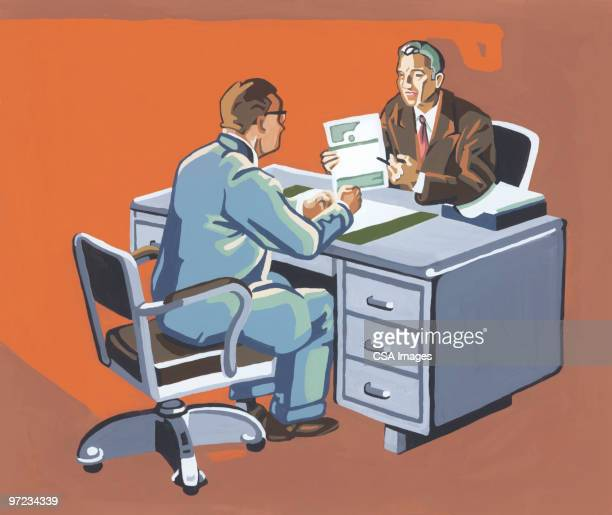 business meeting - only men stock illustrations, clip art, cartoons, & icons