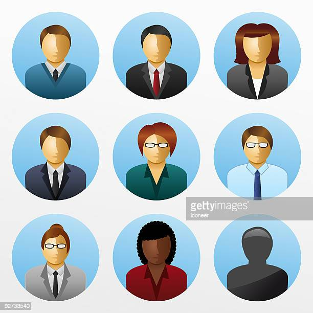 Business People Icon Set - Businesspeople