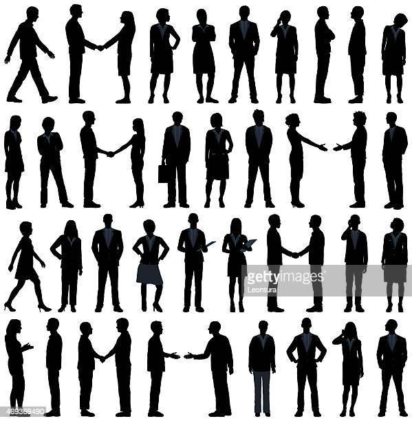 ビジネス人々の白で分離 - secretary general点のイラスト素材/クリップアート素材/マンガ素材/アイコン素材