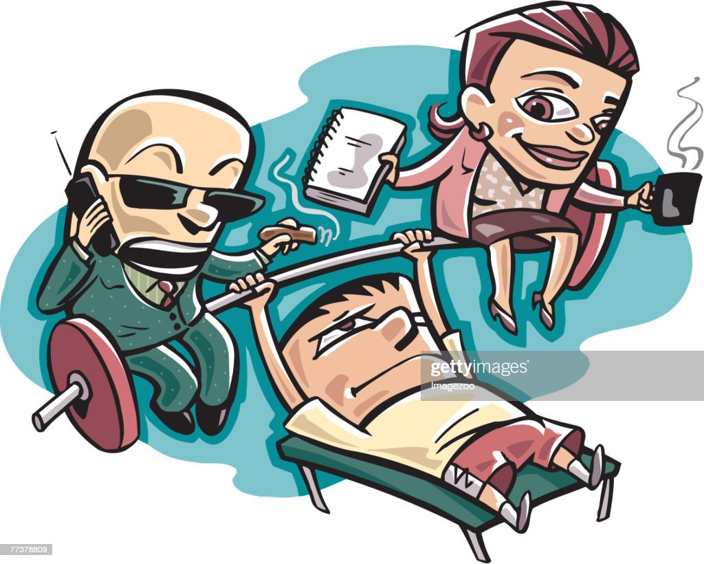 business workout : Illustration