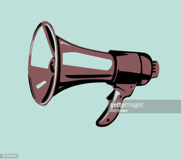 businessman - megaphone stock illustrations