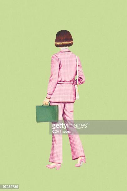 businesswoman - 1990 1999 stock illustrations
