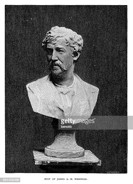 Bust of James Abbott McNeill Whistler