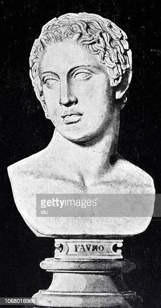 Bust of the young shepherd god Pan