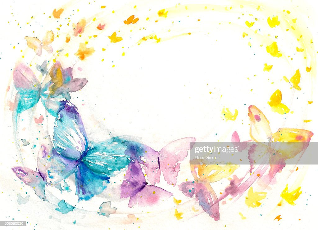 Butterfly - : Stock-Illustration
